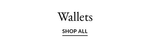Wallets | SHOP ALL