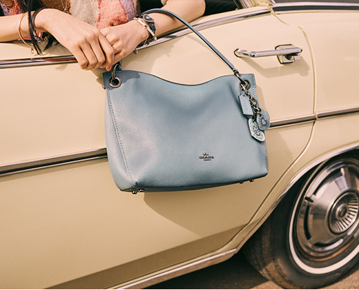 Coach Blue Bag | Inner Beauty | SHOP BAGS
