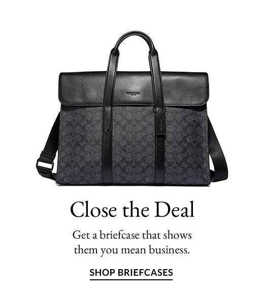 Close the Deal | SHOP BRIEFCASES