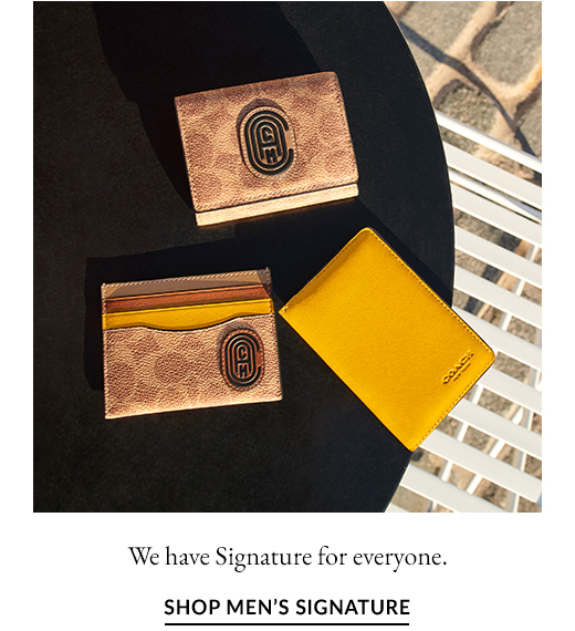 We have Signature for everyone. | SHOP MEN'S SIGNATURE