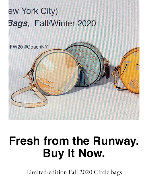 Fresh from the Runway. Buy It Now.