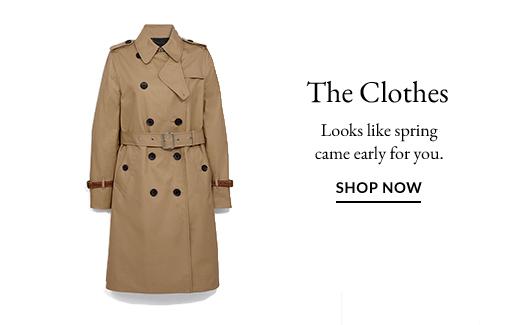 The Clothes | SHOP NOW