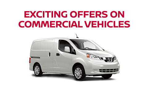 EXCITING OFFERS ON COMMERCIAL VEHICLES