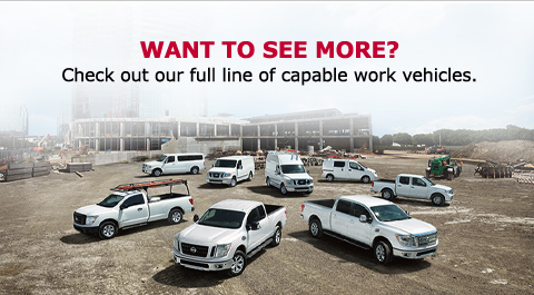 WANT TO SEE MORE?    Check out our full line of capable work vehicles.