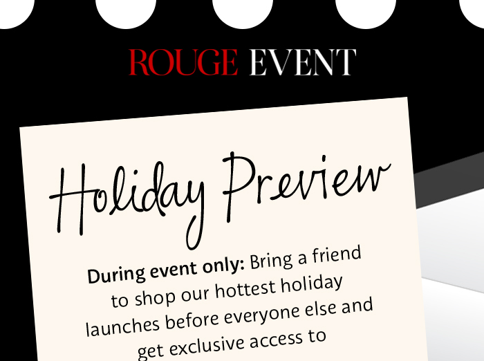 Rogue Event | Holiday Preview