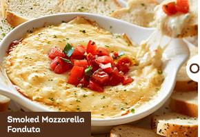 Smoked Mozzarella Fonduta