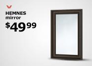 HEMNES mirror $49.99