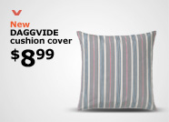 New DAGGVIDE cushion cover $8.99