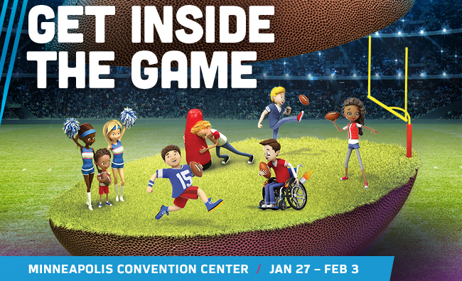 GET INSIDE THE GAME | MINNEAPOLIS CONVENTION CENTER / JAN 27 – FEB 3
