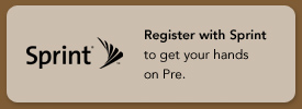 Register with Sprint to get your hands on Pre.