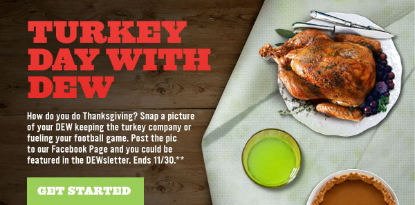Download the image to get in on the Feast with DEW action.