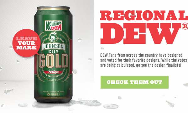 Download the image to find out how to help choose a winning design for your Regional Malt DEW.