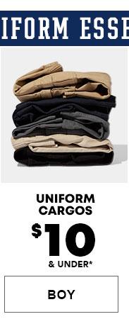 Boys Uniform Cargos