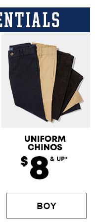 Boys Uniform Chinos