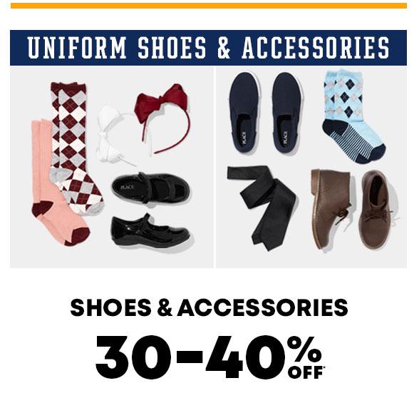 Uniform Shoes & Accessories 30-40% off