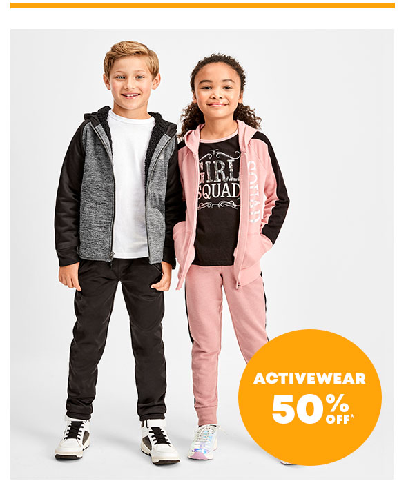 50% Off Activewear