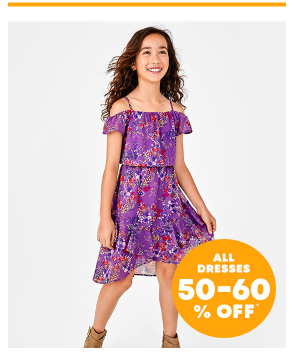 All Dresses 50-60% Off