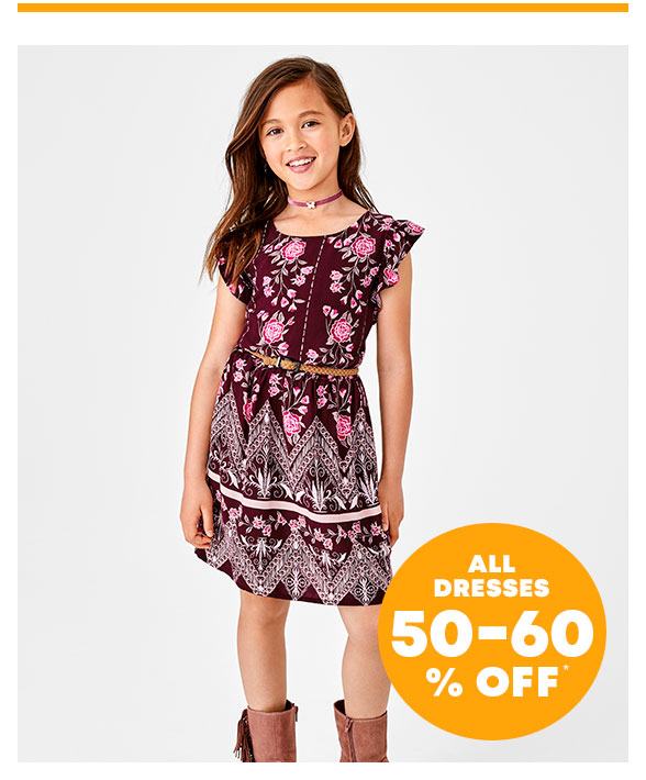 All Dresses 50-60% Off
