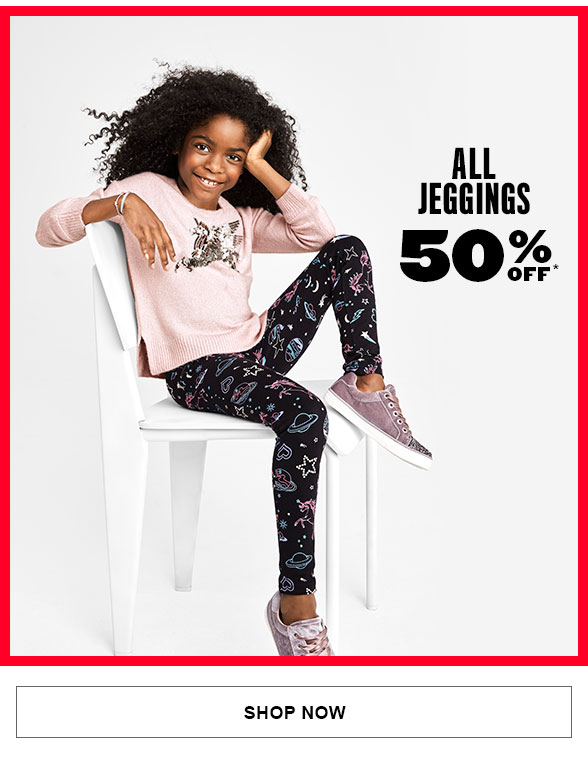 50% Off All Jeggings