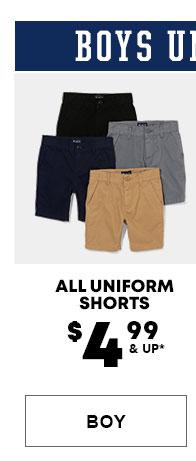 Boys Uniform Shorts