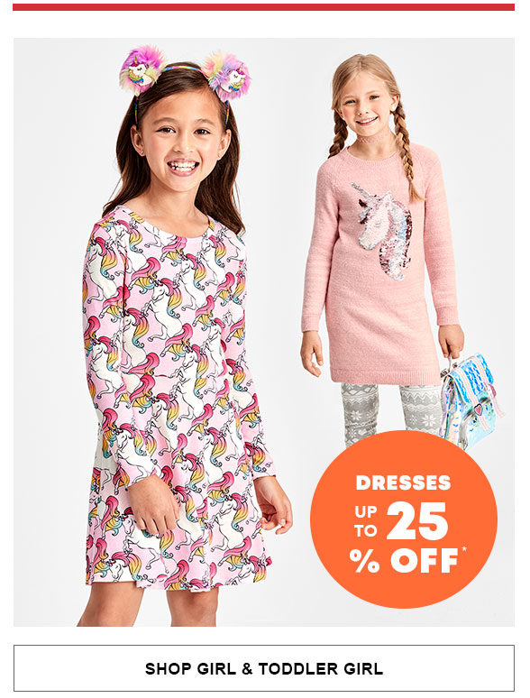 Dresses up to 25% Off