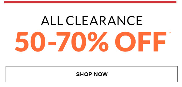All Clearance 50-70% Off
