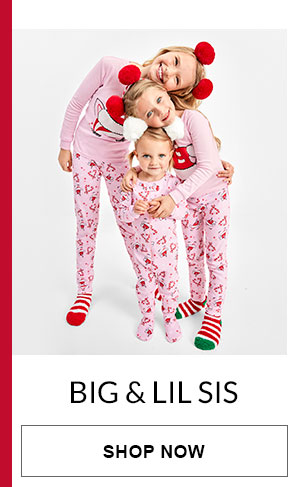 Big & Lil Sis Matching PJs