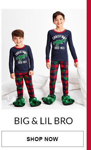 Big & Lil Bro Matching PJs