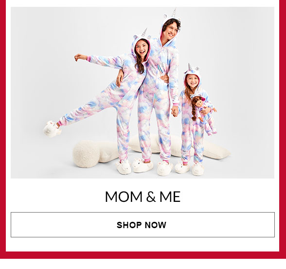 Mom & Me Matching PJs