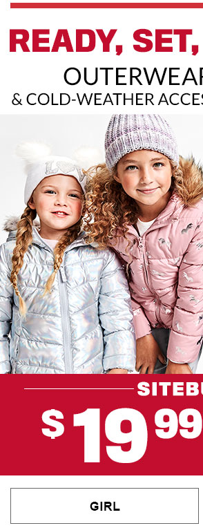 Girl - 50% Off Outerwear & Cold Weather Accessories