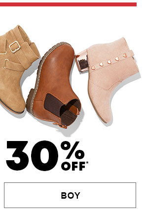 Boy - 30% Off All Boots