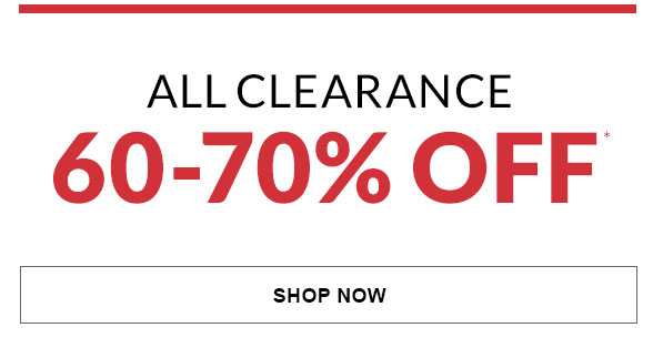 All Clearance 60-70% Off