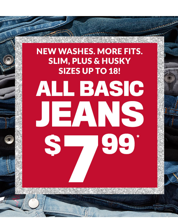 $7.99 Jeans