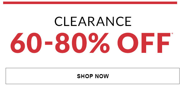 All Clearance 60-80% Off