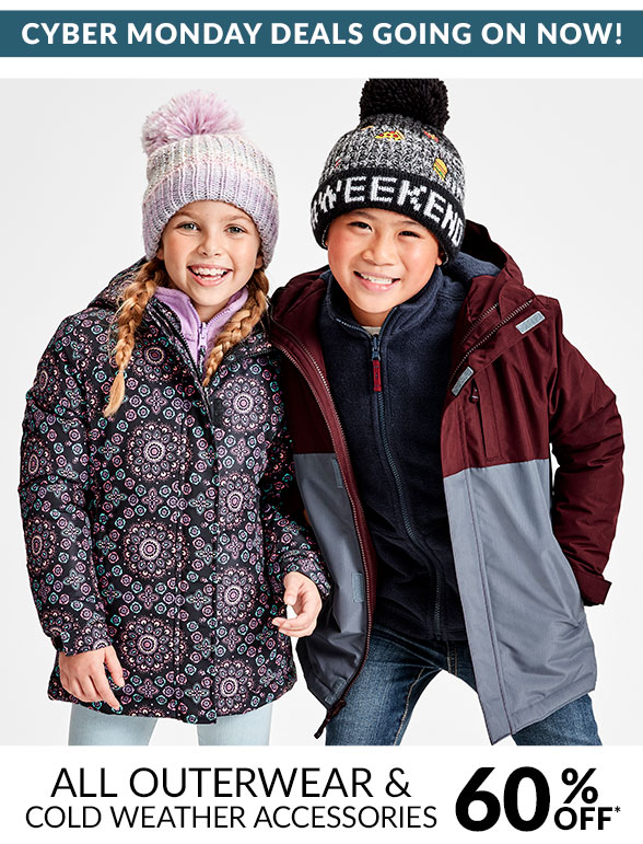 All Outerwear & Cold Weather 60% Off