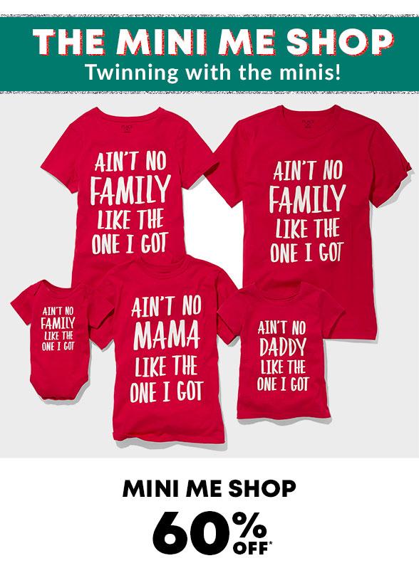 Mini Me Shop 50% Off