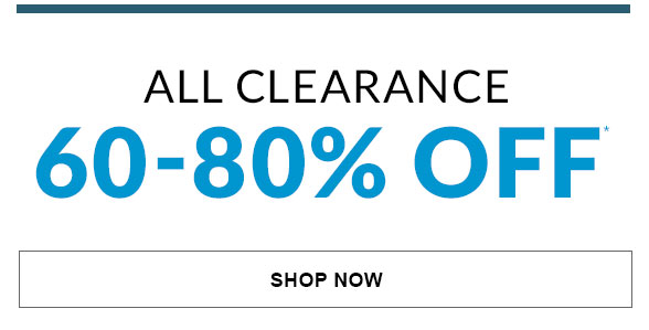 Clearance 60-80% Off