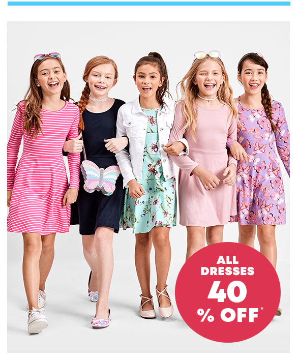 40% Off All Dresses