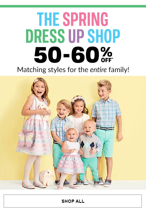 50-60% Off Spring Dress Up