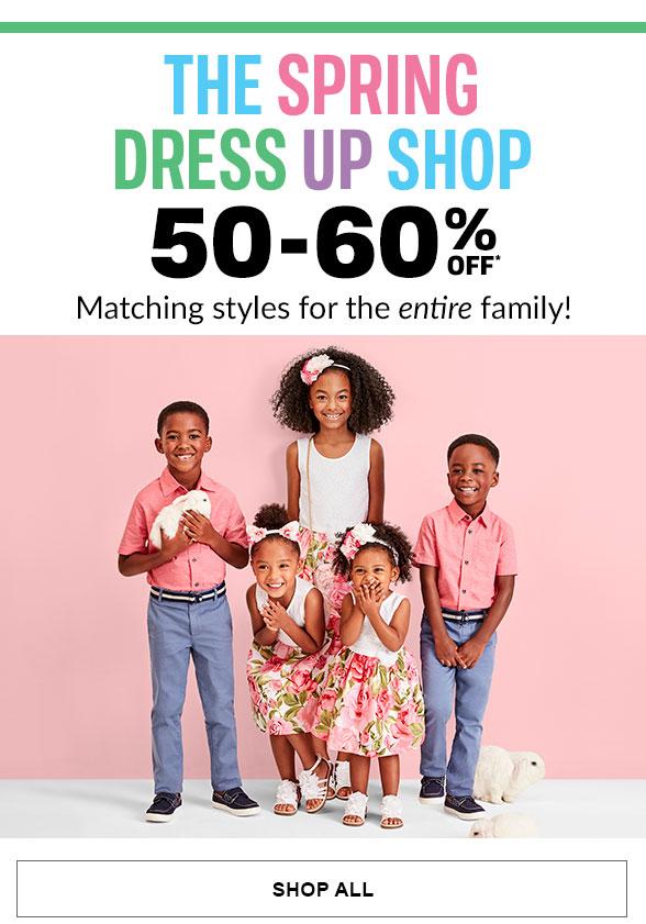 50-60% Off Spring Dress Up