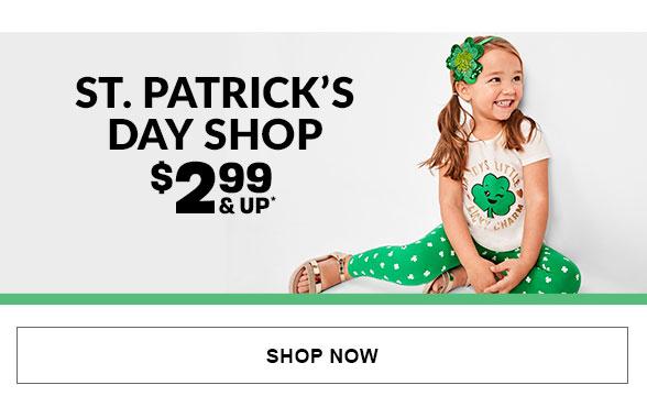 $2.99 & Up St. Patricks Day