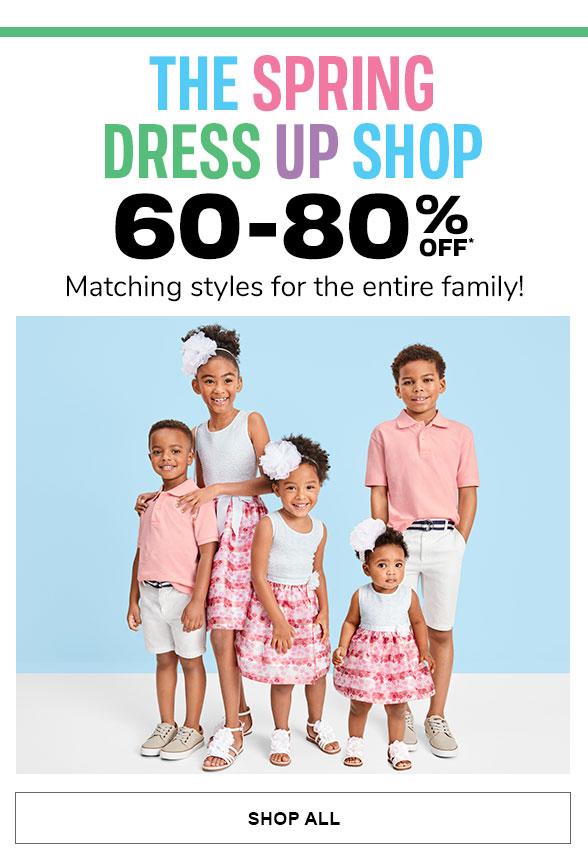 60-80% Off Spring Dress Up