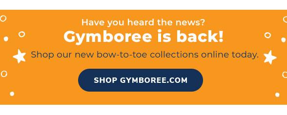 Gymboree is Back!