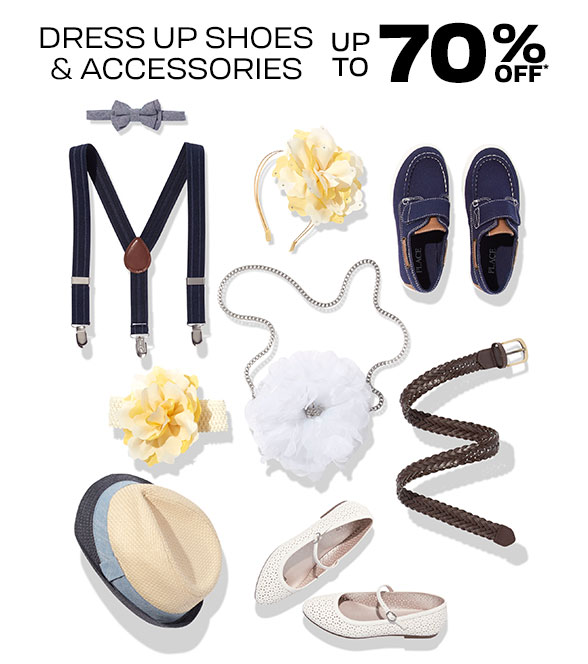 Up to 70% Off Dress Up Shoes & Accessories