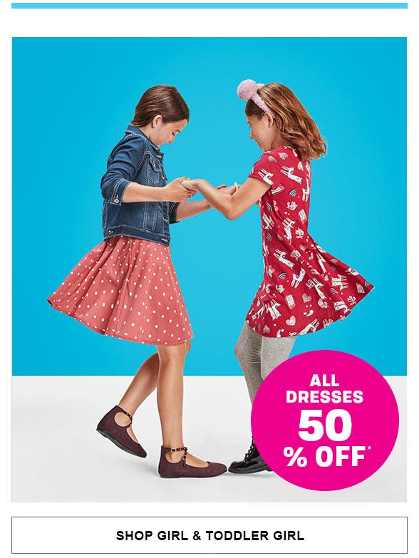 50% Off All Dresses