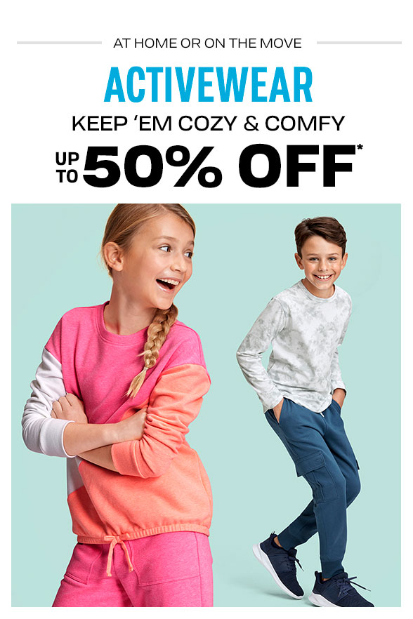 Up to 50% Off All Activewear