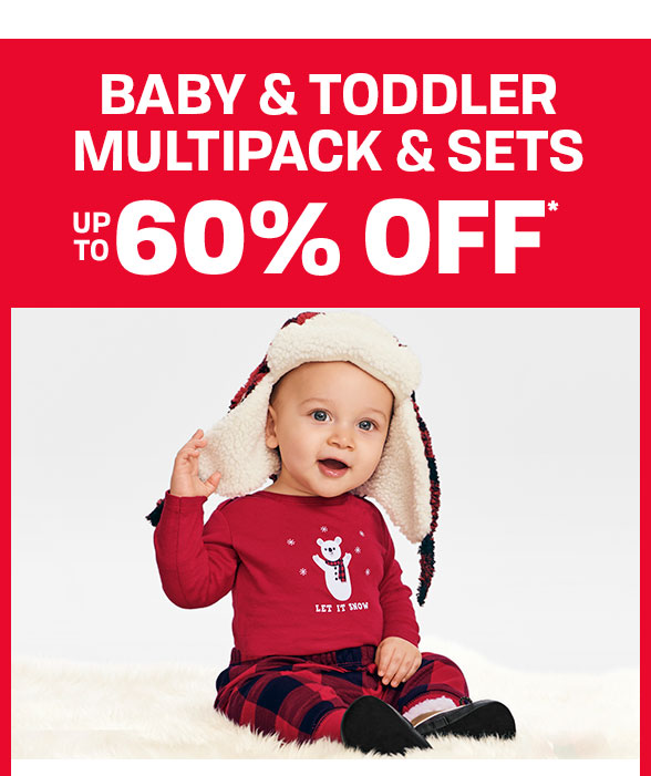 Up to 60% off Baby & Toddler