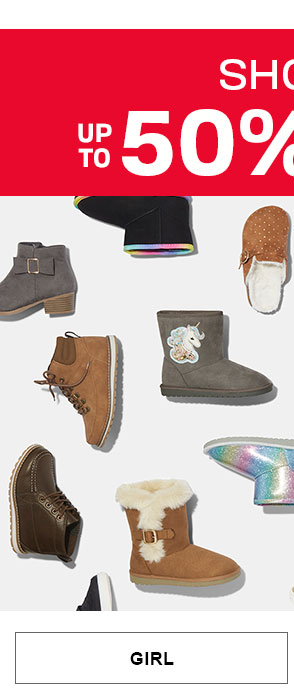 Up to 50% Off Shoes - Girl