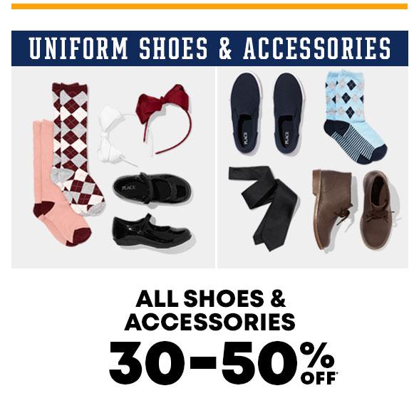 30-50% Off Uniform Shoes & Accessories