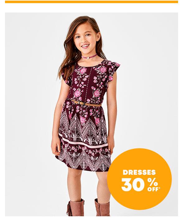 Dresses 30% Off
